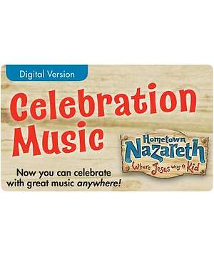 Group Holy Land Adventure VBS 2015 Celebration Music (Digital Edition) (One Card per student)