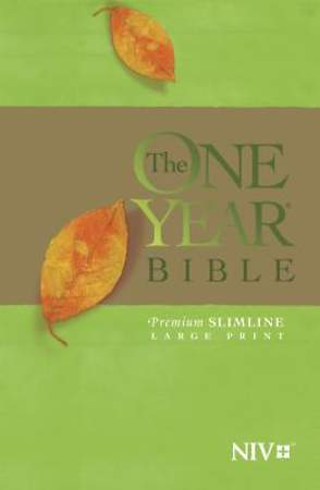 One Year Bible-NIV-Premium Slimline Large Print