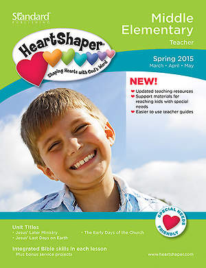 HeartShaper Middle Elementary Teacher Book Spring 2015