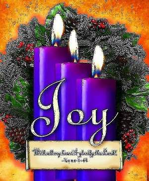 Advent Sunday 3 Purple Bulletin 2013, Large Size (Package of 50)