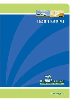 The Bible in 90 Days Whole-Church Challenge Leader's Pack