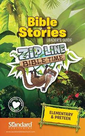 Standard VBS 2014 Jungle Safari Bible Stories Leader`s Guide-Elem/PreTeen