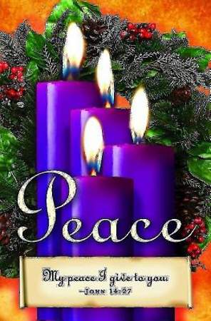 Advent Sunday 4 Purple Bulletin 2013, Regular Size (Package of 50)