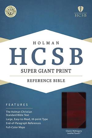HCSB Super Giant Print Reference Bible