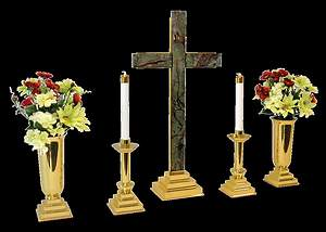 CROSS OF SALVATION ALTAR SET