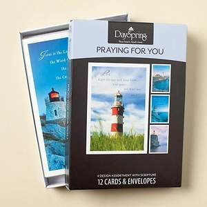 Lighthouses - Praying For You Boxed Cards - Box of 12