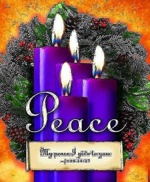 Advent Sunday 4 Purple Bulletin 2013, Large Size (Package of 50)
