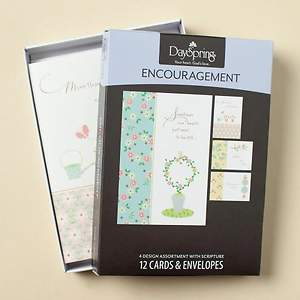 Simple Inspiration - Encouragement Boxed Cards - Box of 12