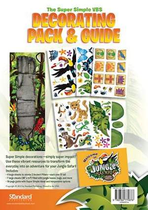 Standard VBS 2014 Jungle Safari Decorating Pack & Guide