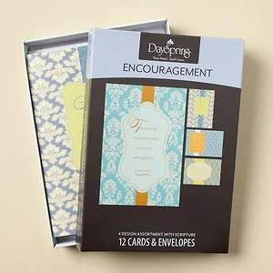 Scriptural Patterns - Encouragement Boxed Cards - Box of 12