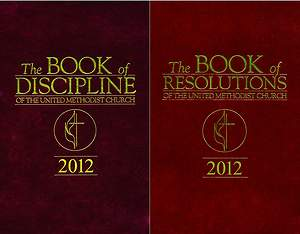 The Book of Discipline & The Book of Resolutions 2012 2-Pack