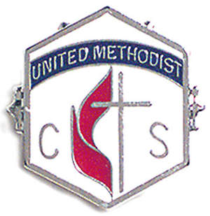 United Methodist 6 Month Church School Attendance Pin