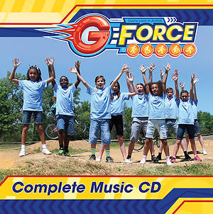 Vacation Bible School (VBS) 2015 G-Force Complete Music CD