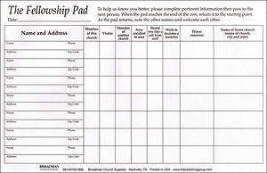 Attendance Pads Pack of 5