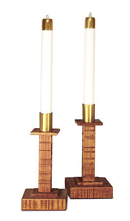 Old Rugged Collection Candlesticks