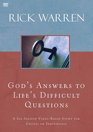 God`s Answers to Life`s Difficult Questions DVD