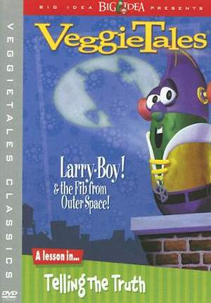 Veggie Tales Larry Boy & the Fib From Outer Space DVD