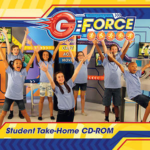 Vacation Bible School (VBS) 2015 G-Force Student Take-Home CD-ROM