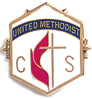 United Methodist 9 Month Church School Attendance Pin