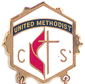 United Methodist 1 Year Church School Attendance Pin