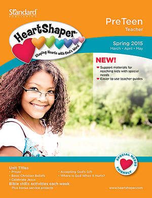 HeartShaper PreTeen Teacher Book Spring 2015