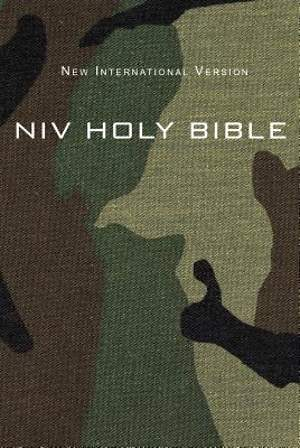 NIV Compact Bible - Green Camo Edition