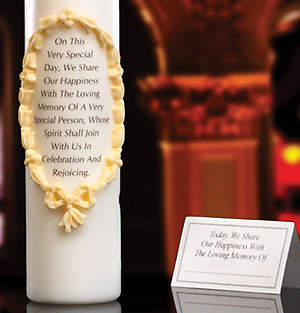 Remembrance/Memorial Candle 3
