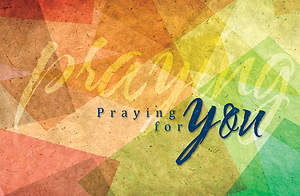 Praying for You Postcard - Colossians 1:3 Package of 25