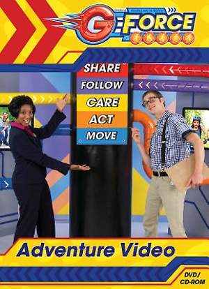 Vacation Bible School (VBS) 2015 G-Force Adventure Video DVD/CD-ROM for Assembly Time