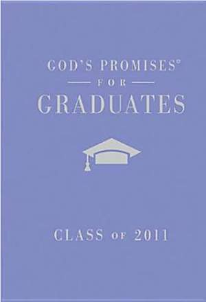 God's Promises for Graduates: Class of 2011 - Girl's Purple Edition