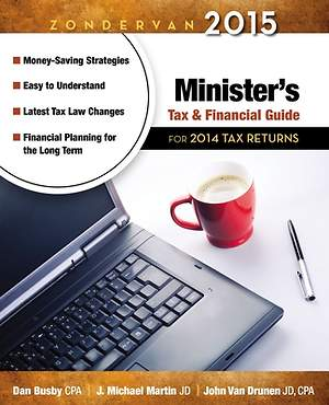Zondervan 2015 Minister`s Tax and Financial Guide