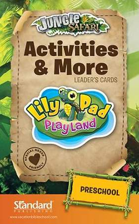 Standard VBS 2014 Jungle Safari Activities & More Leader's Card-Preschool