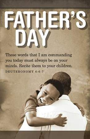 Father & Son Father's Day Bulletin 2015, Regular (Package of 50)