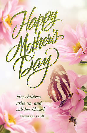 Happy Mother`s Day Regular Size Bulletin, Package of 100