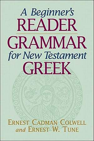 A Beginner`s Reader-Grammar for New Testament Greek