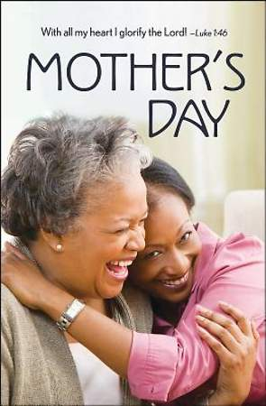 Mother & Daughter Mother's Day Bulletin 2015, Regular (Package of 50)