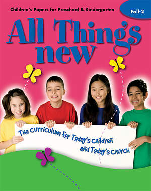 All Things New Fall 2 Children`s Papers (Preschool/Kindergarten)