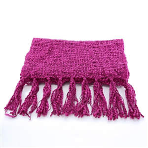 Thai Cozy Scarf - Raspberry