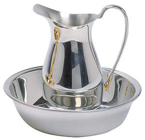 Pewter Baptismal Pitcher