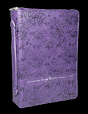 Purple Luxleather Phil 4 Large Print Bible Cover