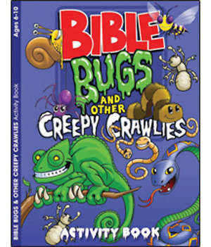 Creepy Crawlers Coloring and Activity Book