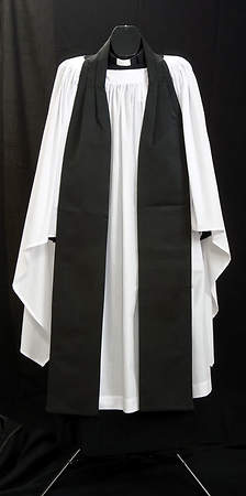 MEN`S SURPLICE-OLD ENGLISH 56""