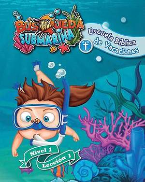 Concordia Spanish VBS 2015 Underwater Quest Level 1 Leaflets