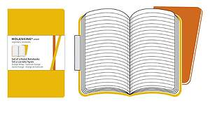 Moleskine Ruled Volant Golden Yellow XL