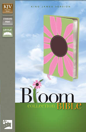 King James Version Thinline Bloom Collection Bible Daisy