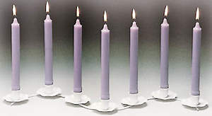 Tenebrae Refill Candles (Box of 7)