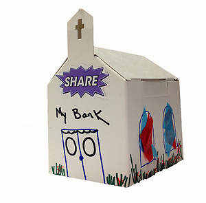 Vacation Bible School (VBS) 2015 G-Force Create-and-Share Church Bank (Pkg of 6)