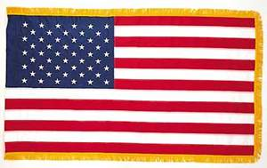 American 3X5 Nylon Indoor Flag