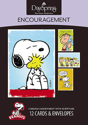 Peanuts - Encouragement Boxed Cards - Box of 12