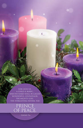 Prince of Peace Bulletin - Pack of 100